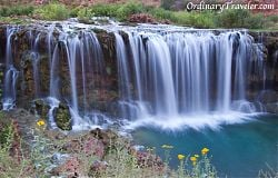 Havasu Falls, Arizona - Navajo Falls Waterfall