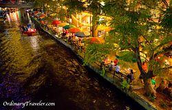San Antonio Riverwalk at Night