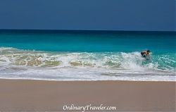 Surfer at Dreamland Beach - Bali