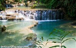 Kuang Xi Waterfall Laos