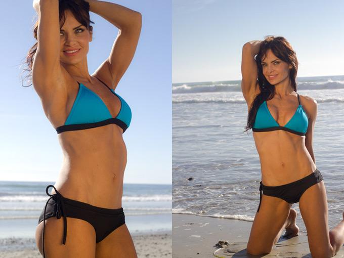 Sports Bikini That Stays Put! Made locally. Made responsibly.