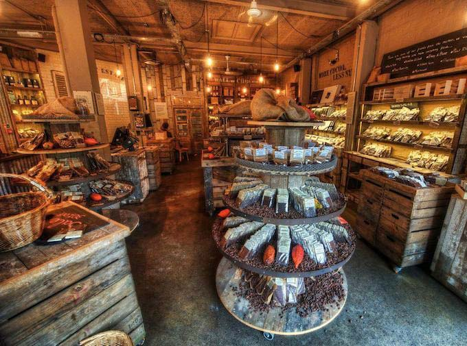 Chocolate Shop in London by Trey Ratcliff