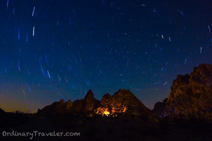 Long Exposure Stars - Joshua Tree