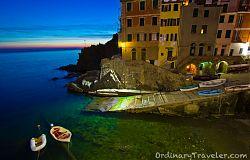 Cinque Terre After Sunset - Riomaggiore
