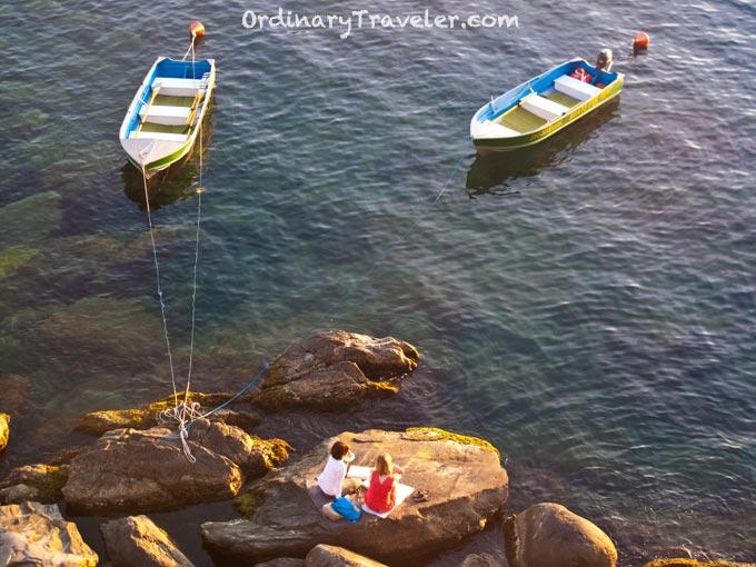 Picnic in Cinque Terre