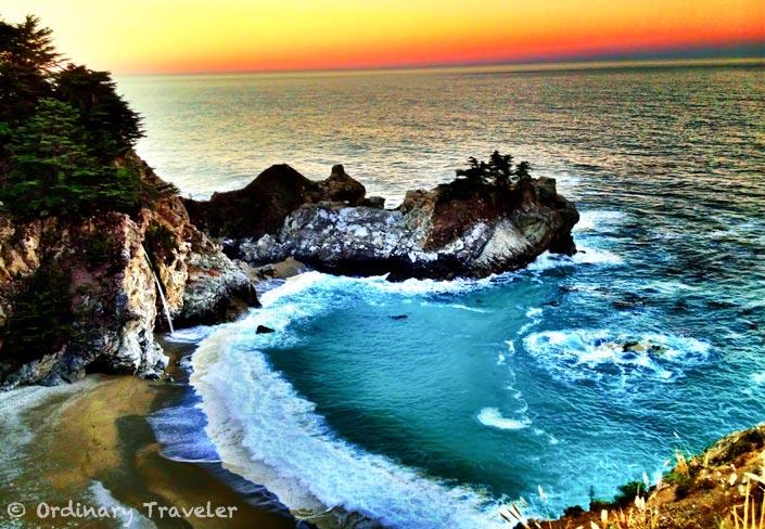 Mcway Falls Big Sur HDR iPhone