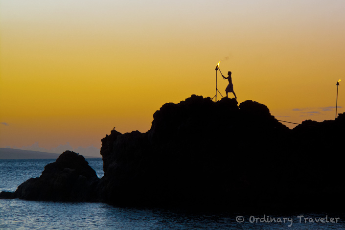 Sheraton Maui Cliff Diving Ceremony