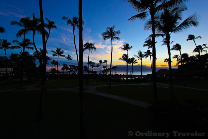 Sunset in Maui - Sheraton Maui