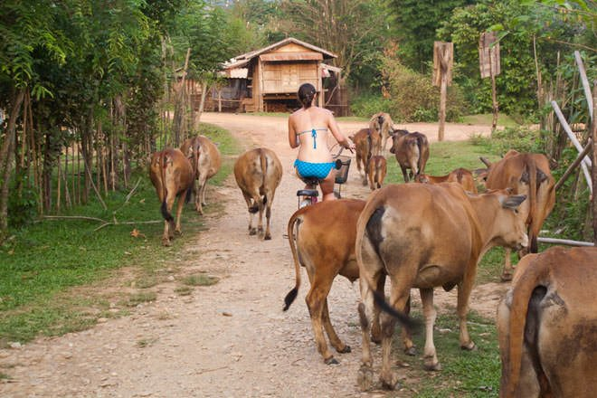 In Search of the Blue Lagoon in Laos