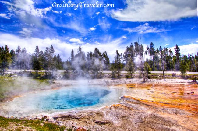 Yellowstone National Park Geyser Photos