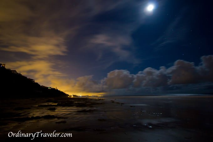 Red Tide Magic - Bioluminescence Captured at Night in San Diego