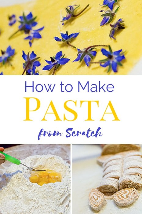 How to Make Pasta from Scratch -- In Italy!