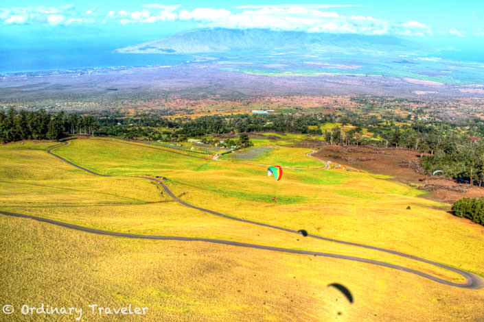 Fear of Heights? Try Paragliding in Maui