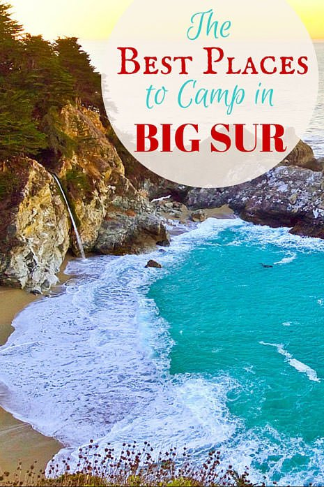 The Best Places to Camp in Big Sur (And Must-Know Travel Tips!)