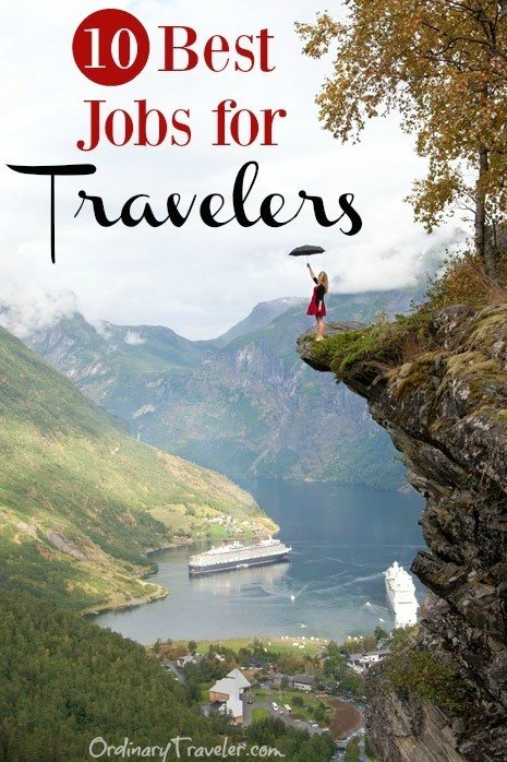 Ten Best Jobs for People Who Love to Travel