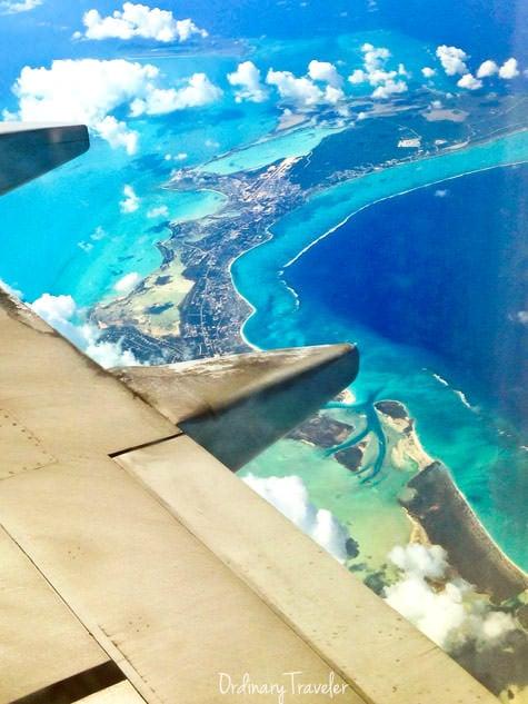 The view en route to St. Maarten