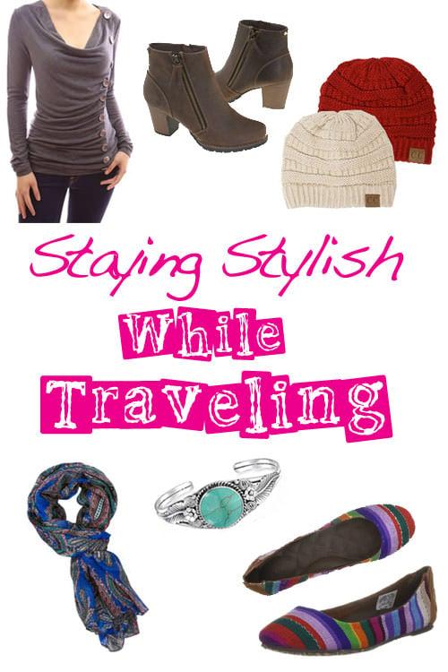 Staying Stylish While Traveling