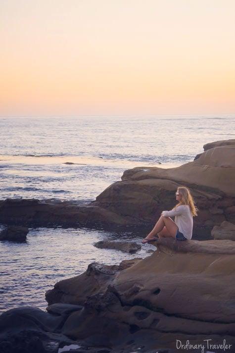 La Jolla San Diego Sunset