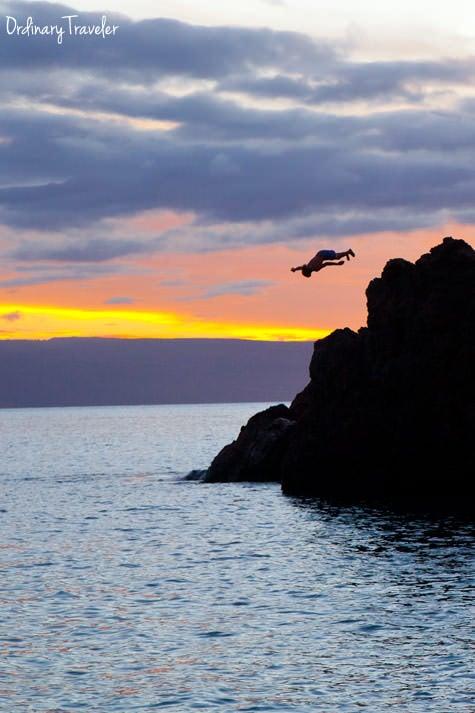 Black Rock Cliff Dive Sheraton Maui