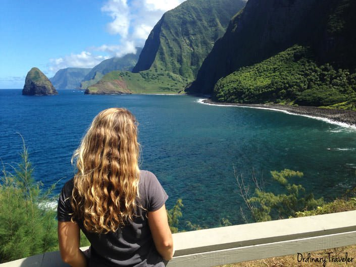 Molokai Kalaupapa Lookout Hawaii