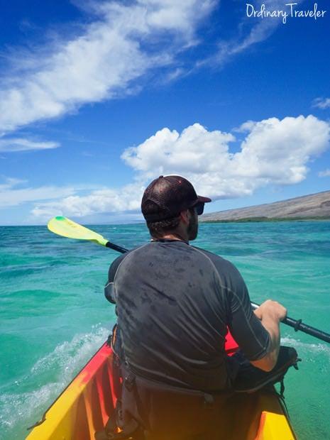 Kayaking Molokai