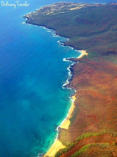 Molokai Plane Aerial View