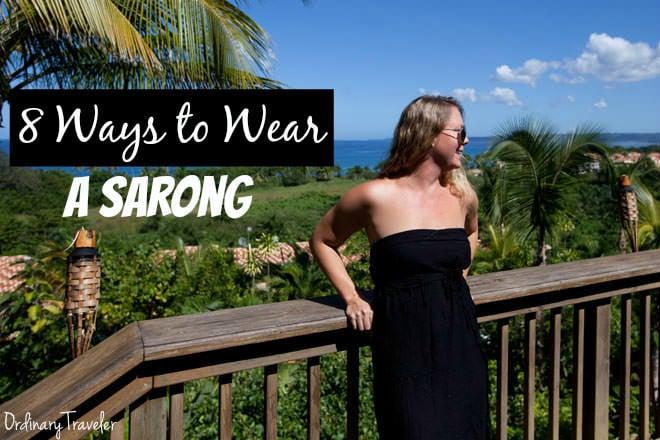 8 Ways to Wear a Sarong