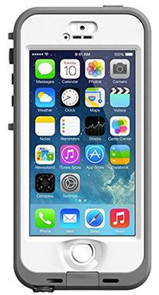 Lifeproof iphone nuud case white