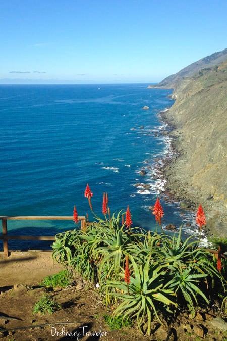 Ragged Point Inn California Overlook