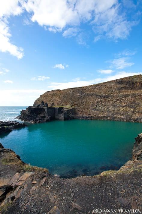 Blue Lagoon Wales Coastal Path Pembrokeshire