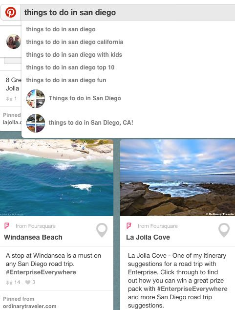 Vacation Planning on Pinterest Mapped Boards