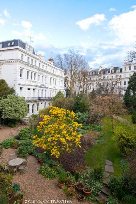 View from Portobello Hotel Notting Hill London