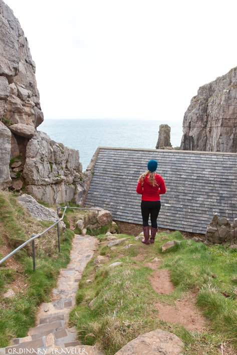 St Govan's Chapel Places to Visit in Wales