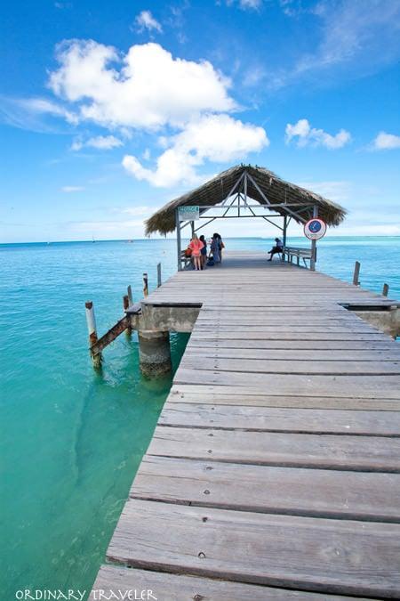 Tobago Pigeon Point Pier