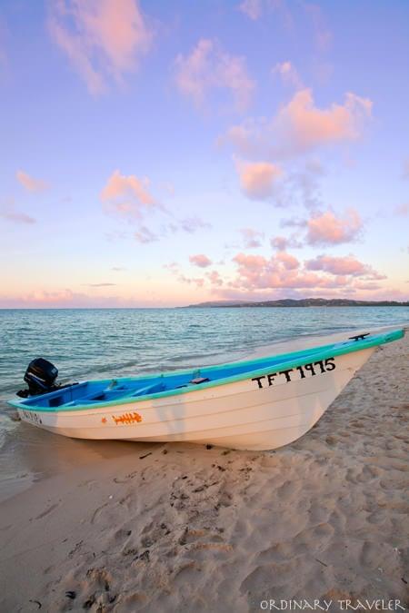 Pigeon Point Tobago Boat