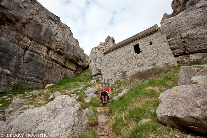 St Govan's Chapel Pembrokeshire Coast Wales
