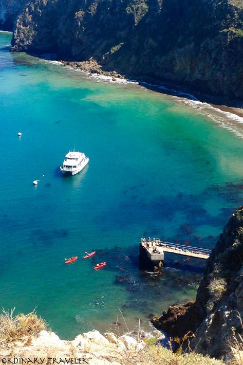 Channel Islands Santa Cruz Scorpion Anchorage