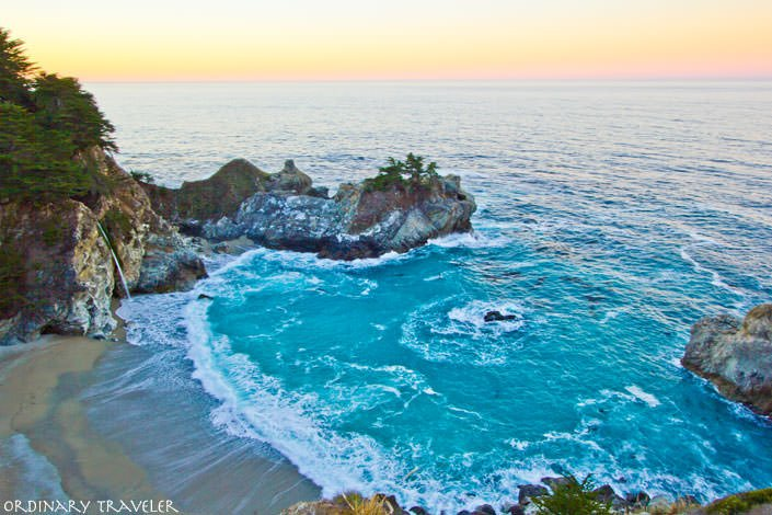 McWay Falls in Big Sur at Sunrise - The Perfect Time for Photos!