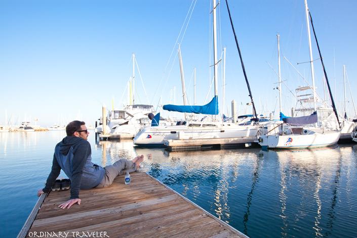 A Blissful Afternoon in Santa Barbara