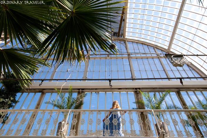 Gothenburg Botanical Garden Palm House Sweden