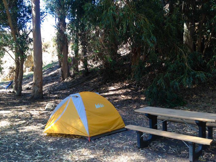 Santa Cruz Scorpion Ranch Campground Lower Loop