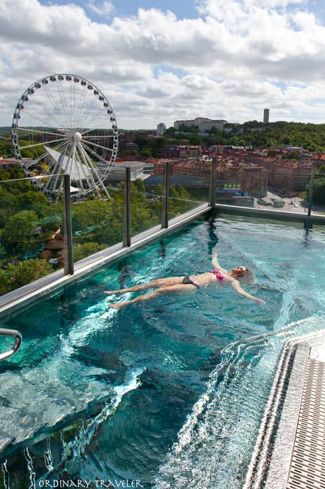 Upper House Spa Outdoor Pool Gothenburg, Sweden