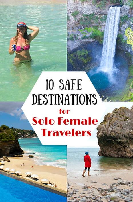 10 Safest Destinations Solo Female Travel
