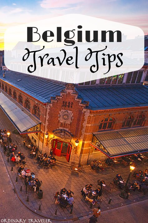 travel guide brussels
