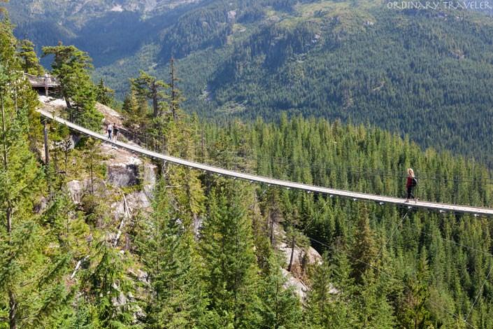 Sea to Sky Gondola Suspension Bridge British Columbia