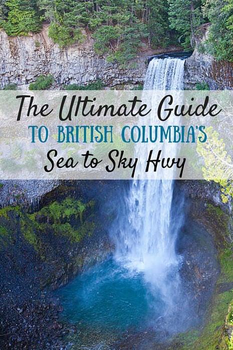 Road Trip Tips Sea to Sky Highway British Columbia