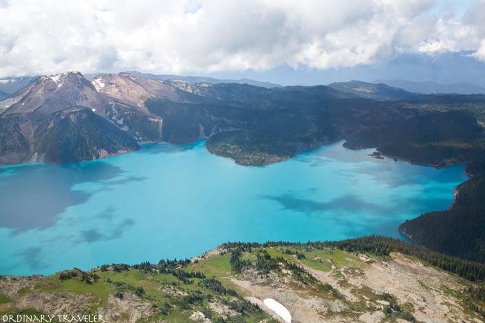 Glacier Lake Sea to Sky Highway