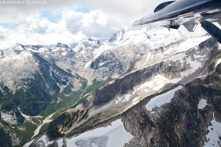 Sea to Sky Highway Whistler Seaplane Flight