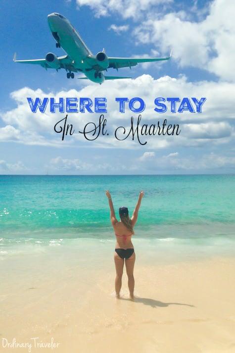 Maho Beach Airplane Landing in St. Maarten