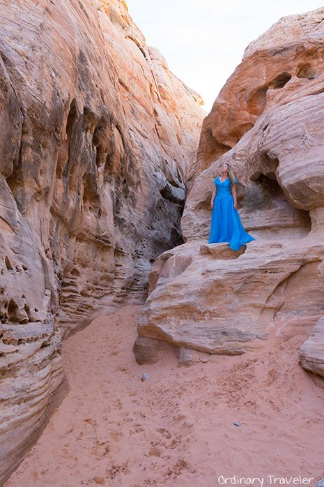 Valley of Fire State Park Slot Canyon - Nevada